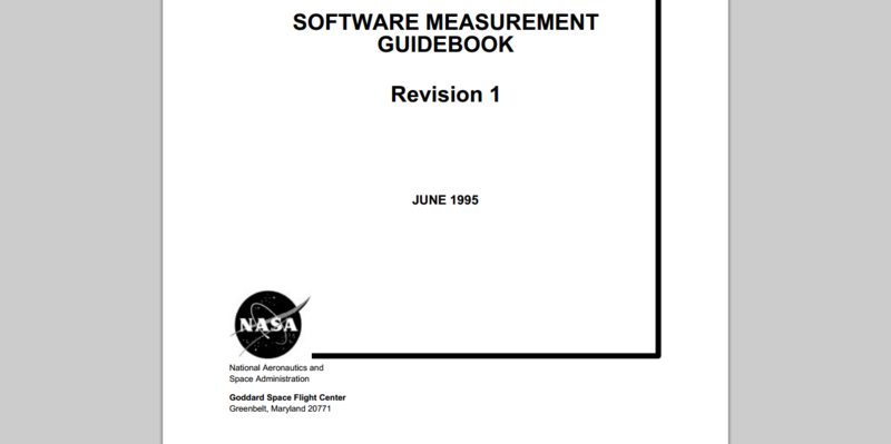 Software Measurement Guidebook
