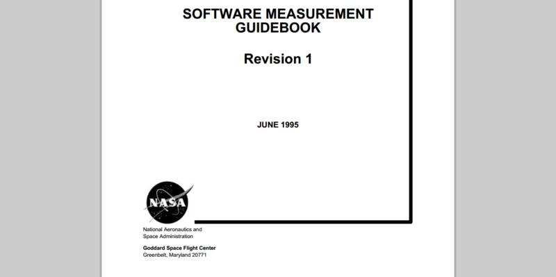 Software Measurement Guidebook