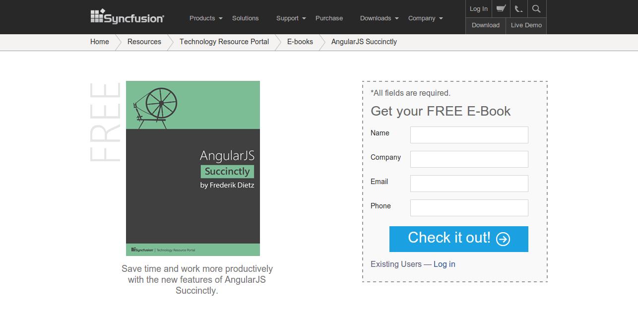 Syncfusion Ebooks AngularJS Succinctly
