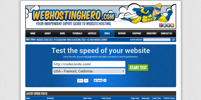 Test the Speed of Your Website From 6 Locations