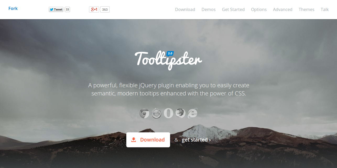 Tooltipster The jQuery Tooltip Plugin