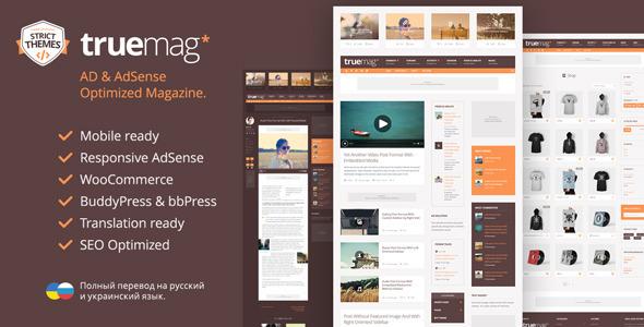 Truemag WordPress Theme