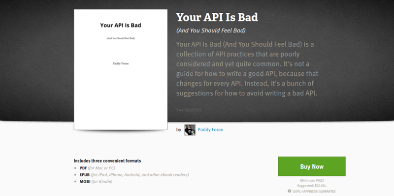 Your API Is Bad