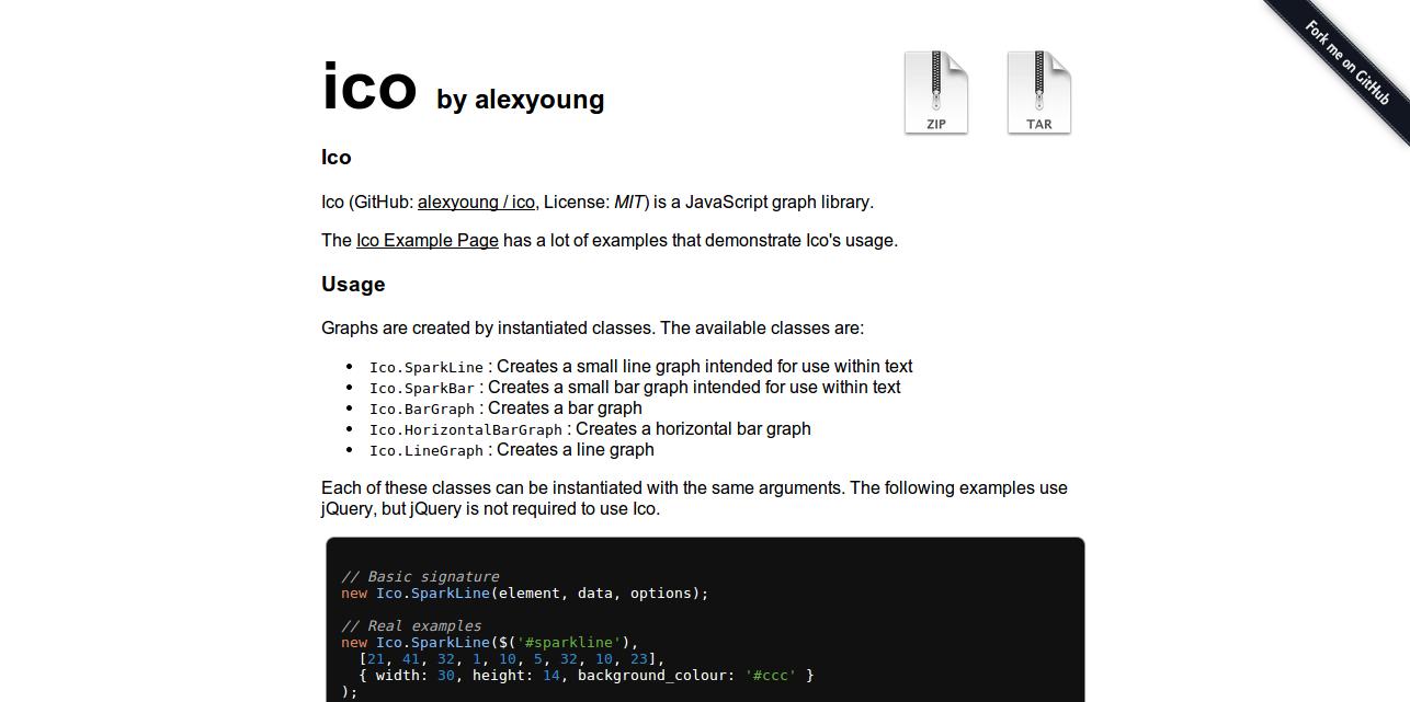 alexyoung ico GitHub