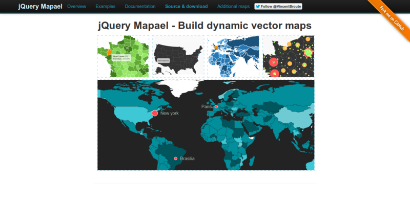 7 Beautiful jQuery Plugins for Manipulating World Maps