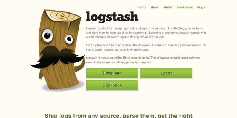 logstash open source log management