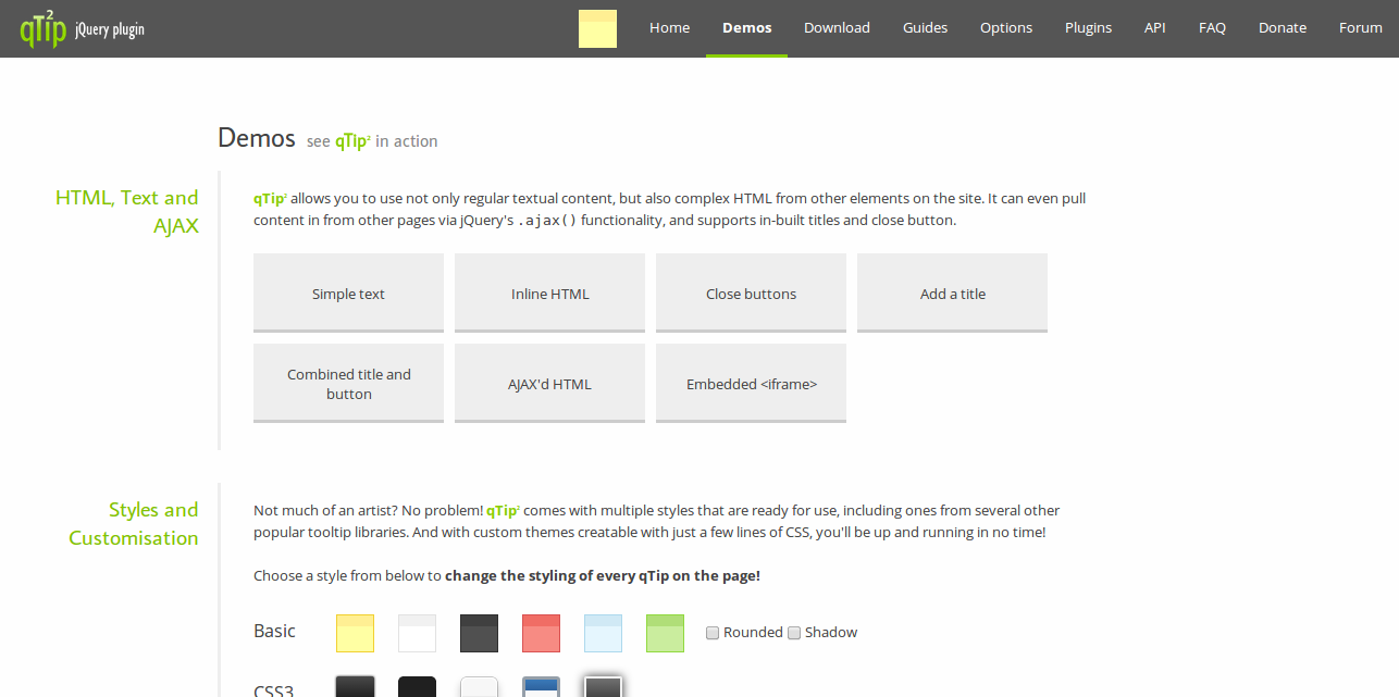 qTip2 Pretty powerful tooltips Demos
