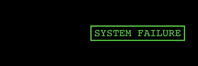 system failure wallpaper