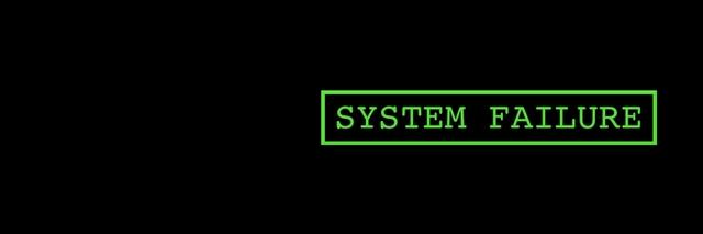 system failure wallpaper