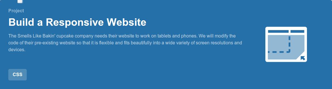 Build a Responsive Website Project