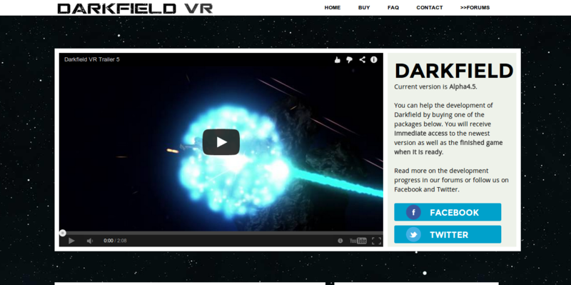Darkfield VR Space Dogfighting for Oculus Rift