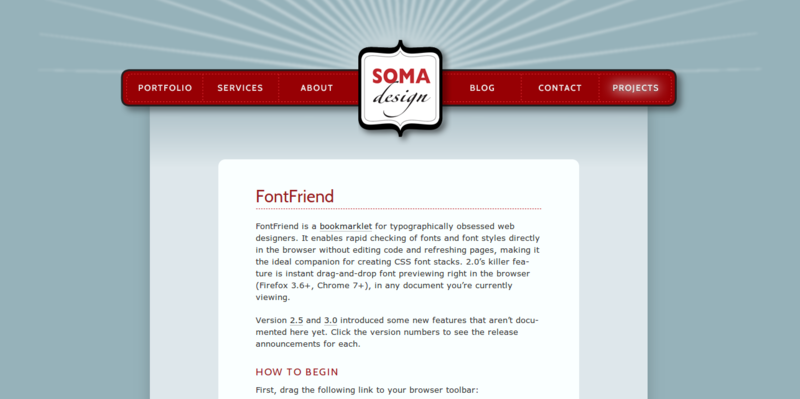 FontFriend – Soma Design