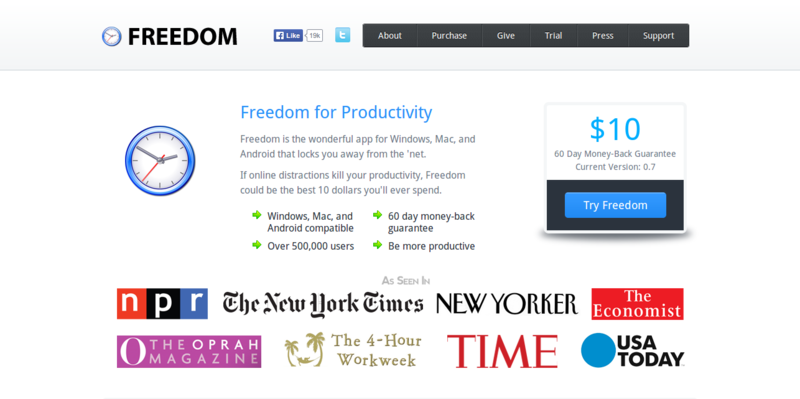 Freedom   Internet Blocking Productivity Software