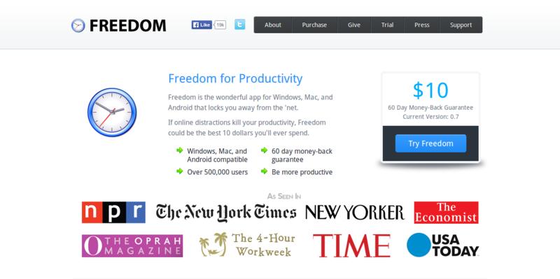 Freedom   Internet Blocking Productivity Software