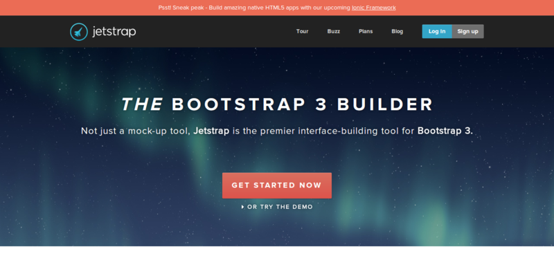 Jetstrap The Bootstrap Interface Builder
