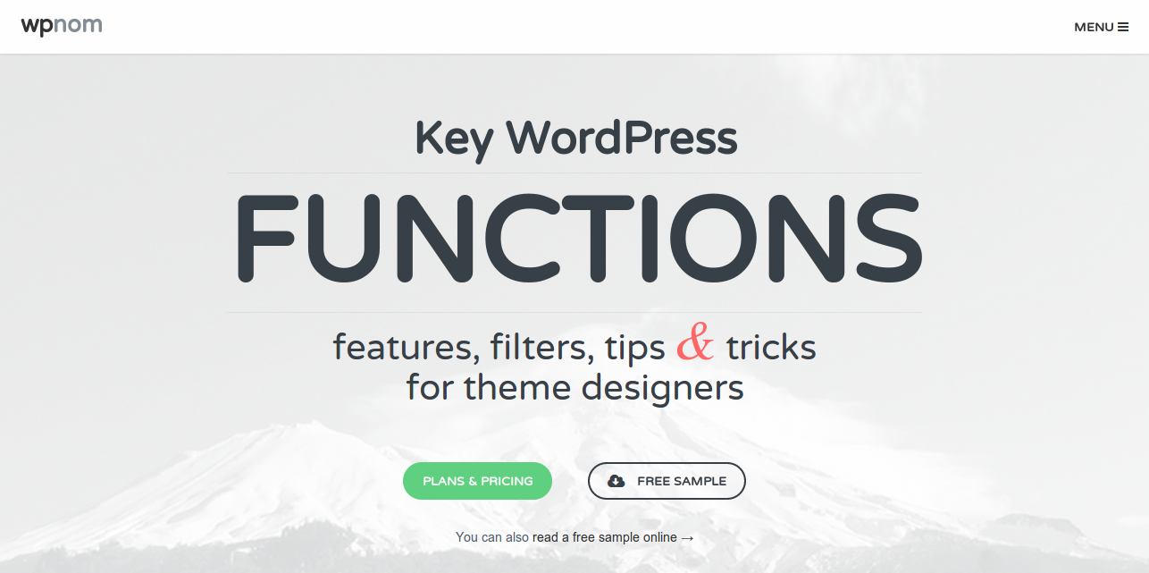 Key WordPress FUNCTIONS  features  filters  tips and tricks