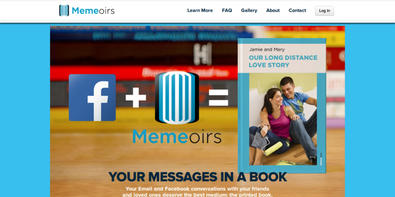 Memeoirs  A Book With Your Online Conversations   Home