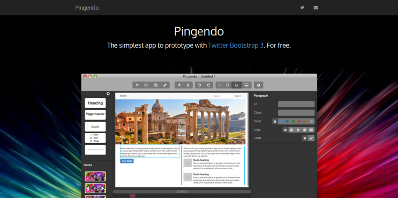 Pingendo web authoring with comfort