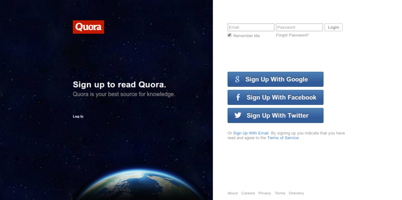 Quora   Your Best Source for Knowledge