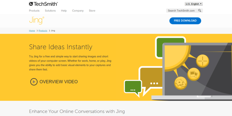 TechSmith   Jing  Free Screenshot and Screencast Software