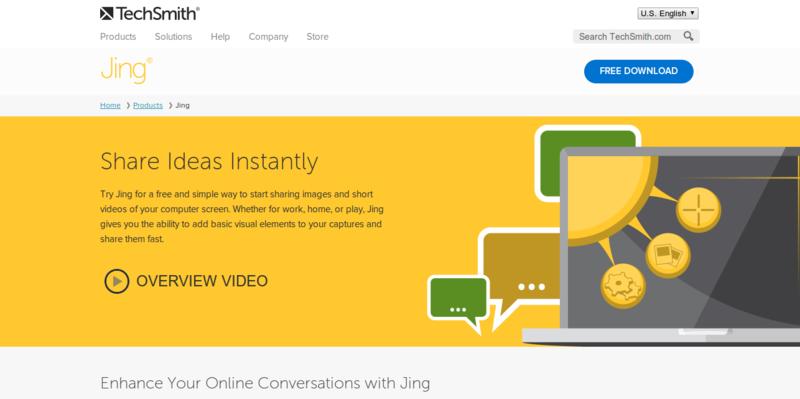 TechSmith   Jing  Free Screenshot and Screencast Software