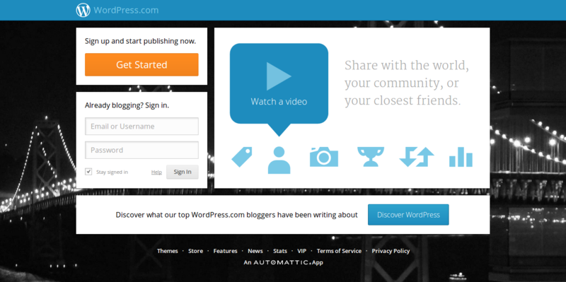 WordPress.com   Get a Free Website and Blog Here
