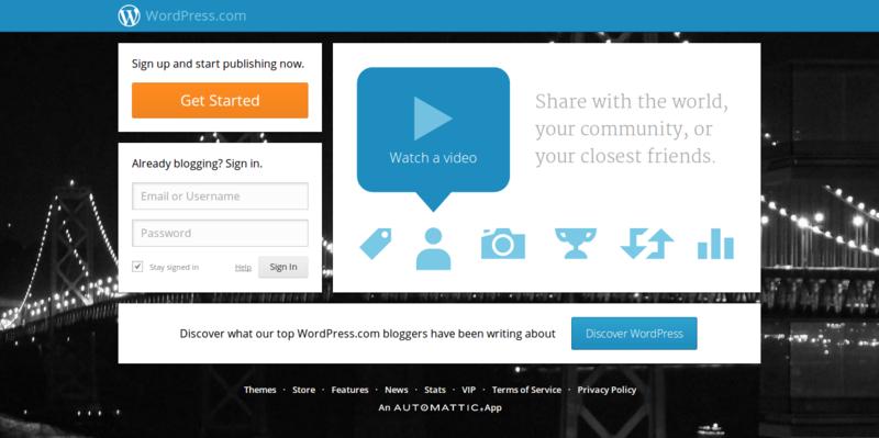 WordPress.com Get a Free Website and Blog Here