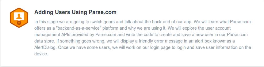 adding users using parse.com