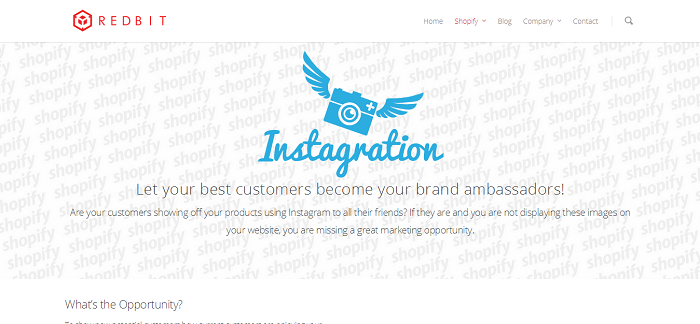 Instagration by RedBit Development