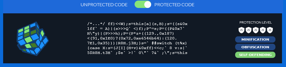 JScrambler - Protected JavaScript Code