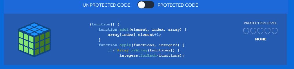JScrambler - Unprotected JavaScript Code