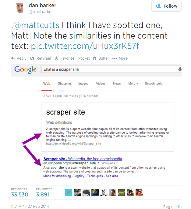 Matt Cutts Web Scraping