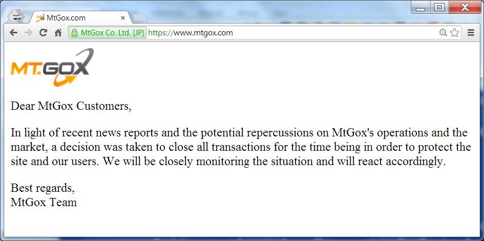 MtGox Scandal