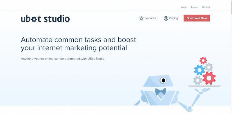 UBot Studio 5 Build Web Automation and Marketing Software