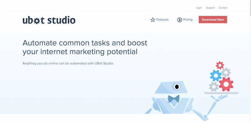 UBot Studio 5  Build Web Automation and Marketing Software