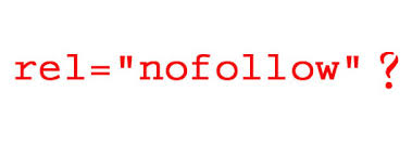 nofollow attribute
