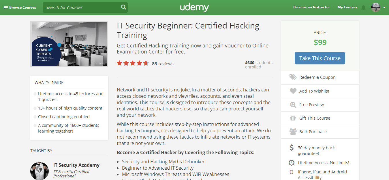 Certified Hacking Training