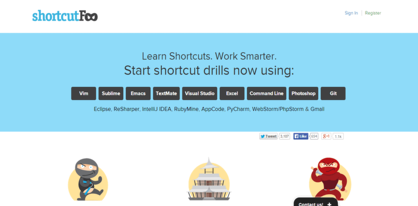 shortcutfoo