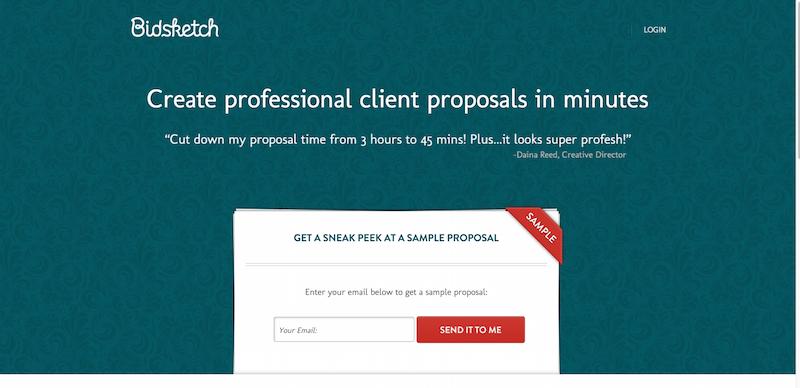 Bidsketch  Proposal Software   Proposal Templates