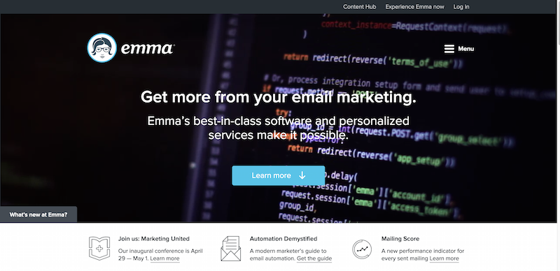 Email Marketing Services   Email Marketing Software   Email Marketing   Emma  Inc.