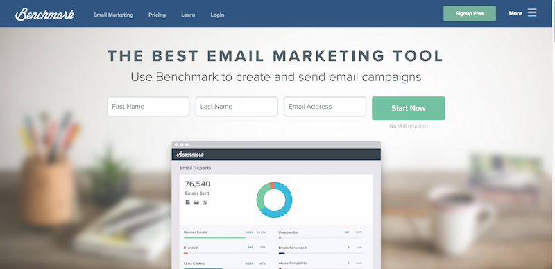 Email Marketing Services from Benchmark