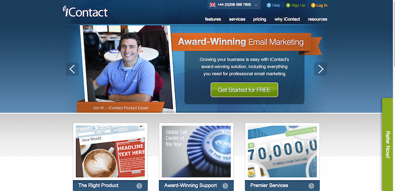 Email Marketing Services iContact