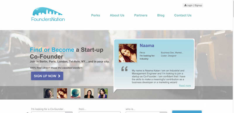 Find or become a startup Co Founder