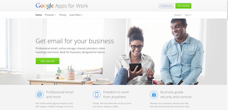Google Apps for Work – Email Collaboration Tools And More