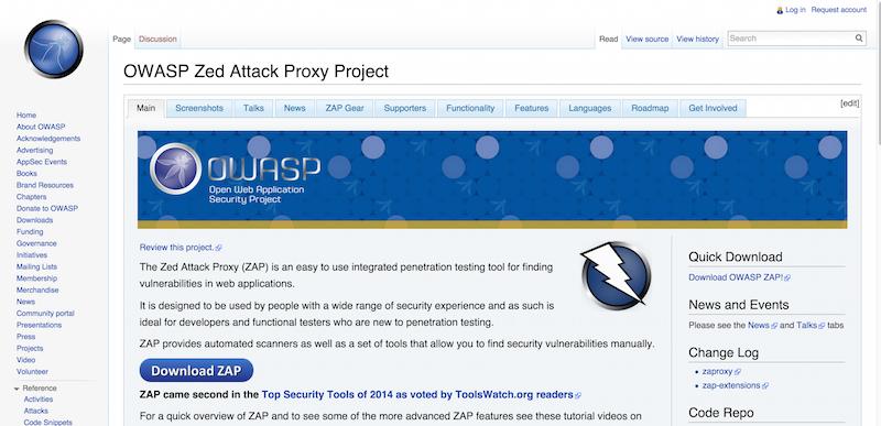 OWASP Zed Attack Proxy Project   OWASP