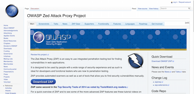 OWASP Zed Attack Proxy Project   OWASP