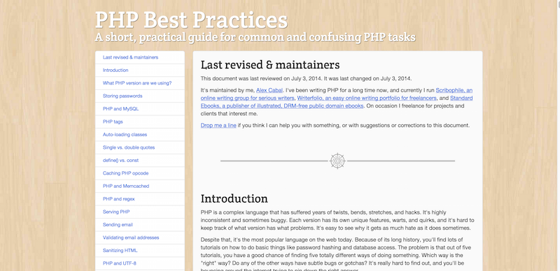 PHP Best Practices a short practical guide for common and confusing PHP tasks