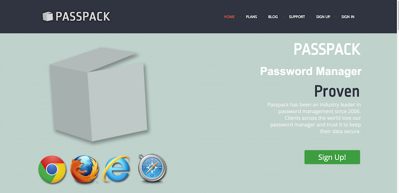 Passpack Password Manager