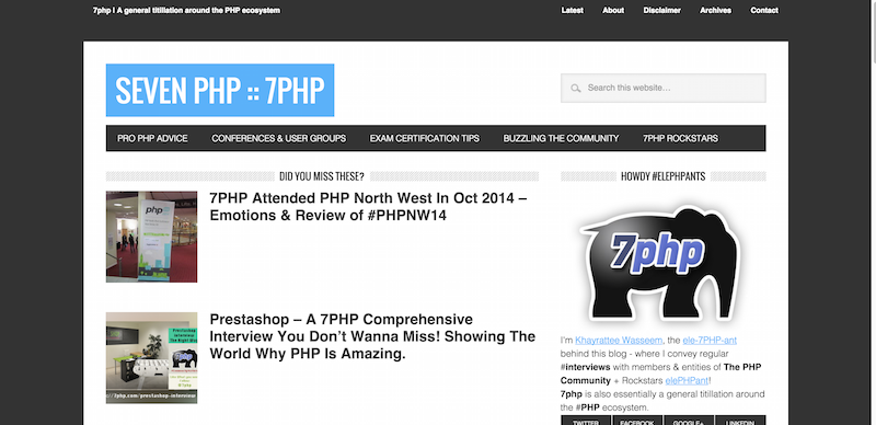 Seven PHP 7PHP