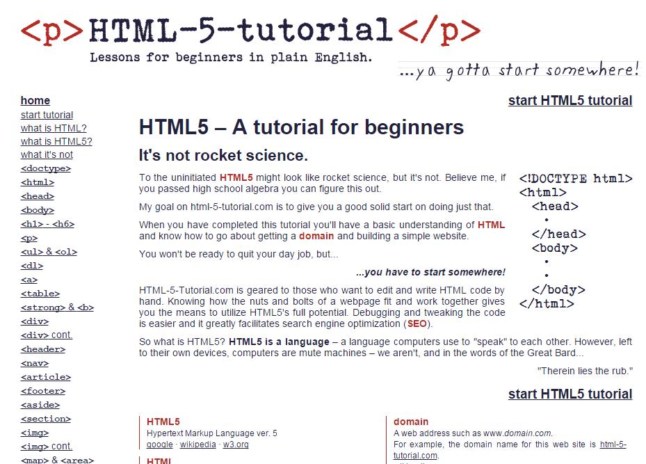 html5-tutorial